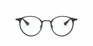 Ray-Ban RX6378 Round Metal Eyeglass Frames Non Polarized Prescription Eyewear