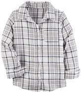 Carter's Girls 4-8 Carter's Plaid Button Down Shirt