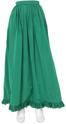 MSGM Ruffle-Hem Maxi Skirt
