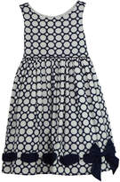 Biscotti Blue Polkadot Dress