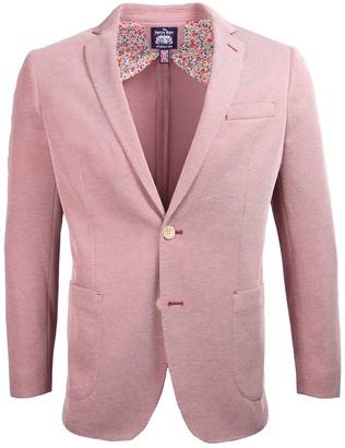 Savile Row Co Slim Knit Blazer