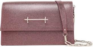 M2Malletier Sofia Glittered Leather Shoulder Bag