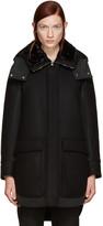 Moncler Black Down Nomia Coat