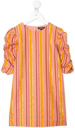 Velveteen Darla striped shift dress