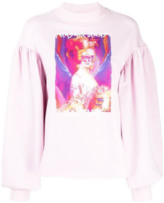Versace Jeans Couture Logo-Print Sweatshirt