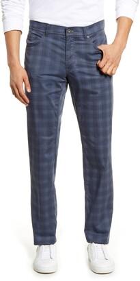 Brax Cooper Fancy Ultralight Plaid Straight Leg Pants