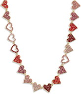 Stella + Ruby Heart of Hearts Necklace