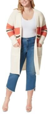 Jessica Simpson Trendy Plus Size Marina Kalamata Duster Sweater