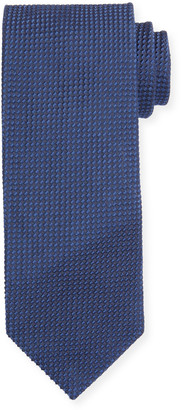 Tom Ford Micro-Pattern Silk-Blend Tie