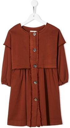 Andorine Layered Shirt Dress