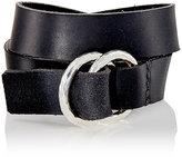 Werkstatt:Munchen Men's Double-Wrap Bracelet-SILVER