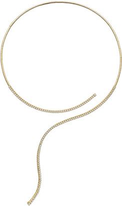 Mattia Cielo 18k Yellow Gold Diamond Collar