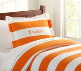 Pottery Barn Kids Rugby Duvet Cover