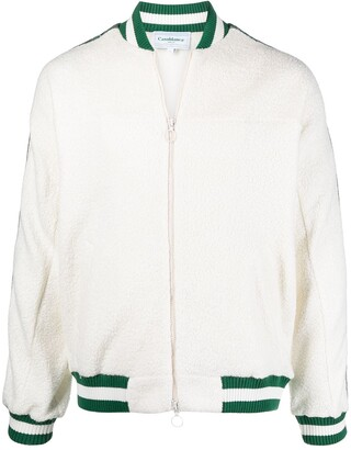 Casablanca Side Stripe-Detail Knitted Jacket
