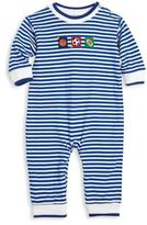 Florence Eiseman Baby's Applique Striped Coverall