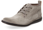John Varvatos Square Toe Leather Boot