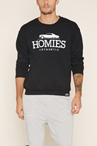 Forever 21 FOREVER 21+ Homies Graphic Pullover
