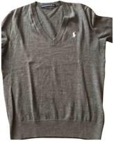 Ralph Lauren Grey Wool Knitwear
