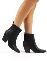 Public Desire Hazy Block Heeled Ankle Boots