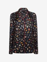 Alexander McQueen Obsession Print Pajamas