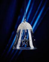 Swarovski 2016 Annual Crystal Bell Christmas Ornament