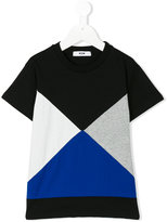 MSGM geometric print T-shirt - kids - Cotton - 4 yrs