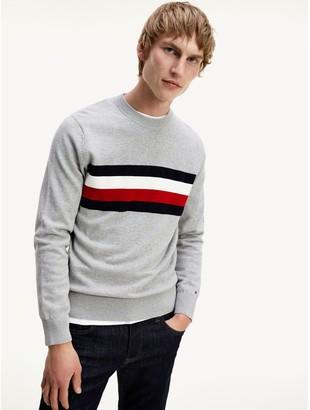 Tommy Hilfiger Organic Cotton Bar Stripe Sweater