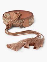 Lucky Brand Beadedd Waist Tie Belt