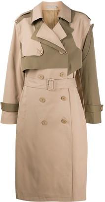 Preen Line Adel trench coat