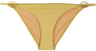 Rixo Elise swirl detail bikini bottoms