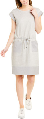Lafayette 148 New York Linen-Blend Sweaterdress