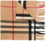Burberry 'House Check' scarf - women - Polyamide/Cashmere - One Size
