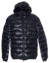 Blauer Men's Blue Polyamide Down Jacket.