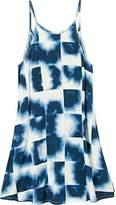 RVCA Junior's Pipe Dream High Neck Printed Dress