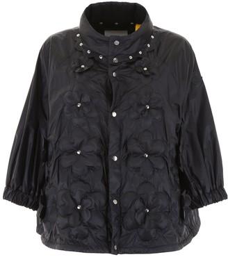 MONCLER GENIUS Moncler X Noir Kei Ninomiya Floral Studded Jacket