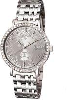 Versus By Versace Manhasset Round 42mm Lion-Dial Women's Watch, Steel