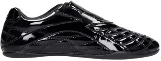 Balenciaga Zen Sneaker Sneakers In Black Patent Leather