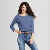 Mossimo Women's Long Sleeve Raglan T-Shirt