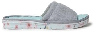 Dearfoams Women's Wool Inspired Slide Slippers