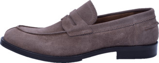 Eleventy Suede Penny Loafer