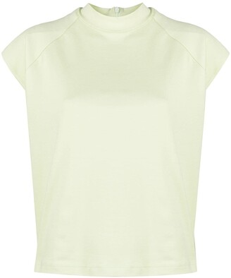 REMAIN high-neck short-sleeved T-shirt