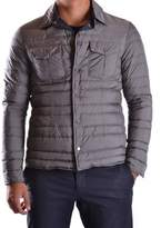 Geospirit Men's Grey Polyester Down Jacket.