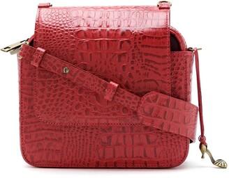 Sarah Chofakian Apollo leather shoulder bag