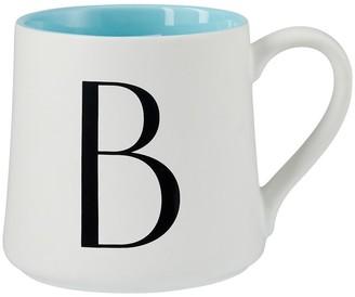 Indigo Monogram Mug B