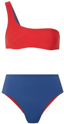 Solid & Striped The Isabeli Reversible One-shoulder Bikini
