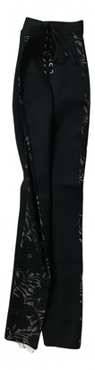 Agent Provocateur Black Synthetic Trousers