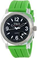 TKO ORLOGI Women's TK558-BGR Milano Junior Acrylic Case Dial Watch