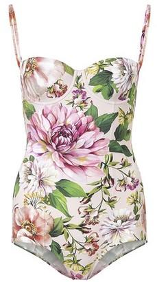 Dolce & Gabbana Flowers swimming costume