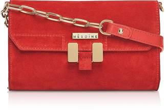 Maison Heroine Brick Suede Carrie Belt Bag