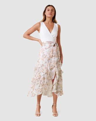 Forever New Joanna Frill 2-in-1 Maxi Dress